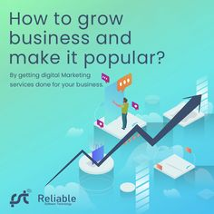 Now grow up your business by taking it to an online platform and promoting it to the top by getting digital marketing services done for your business. If you are looking for the best digital marketing service in Bangalore, then contact Reliable Software Technology. #Digitalmarketing #SEO #PPC #SMO #SEM #DigitalServices #DigitalAgency #ITcompany #Digital #DigitalMarketingAgency #BusinessStrategy #BusinessSolutions #MarketingStrategy #DigitalMarketingService #DigitalSolutions #Billionaire S Mo, Digital Marketing Services, Billionaire, Software, Platform, Technology, Business, Top, Fantasy Landscape