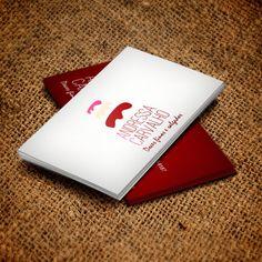 • Cliente: Andressa Carvalho • Criação de arte para cartão de visita 4/4 UV. • Programas Utilizados: Illustrator e Corel Draw.