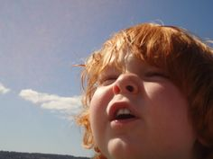 child looking up - Google Search