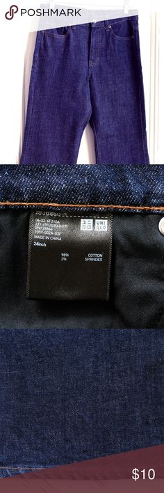 Calça Jeans Levis Pantacourt Azul
