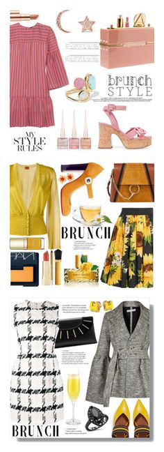 """Winners for Mother's Day Brunch Goals"" by polyvore ❤ liked on Polyvore featuring Vanessa Seward, Charlotte Olympia, Miu Miu, Aamaya by Priyanka, Ippolita, Christian Louboutin, Estée Lauder, Dolce&Gabbana, Chloé and Missoni"