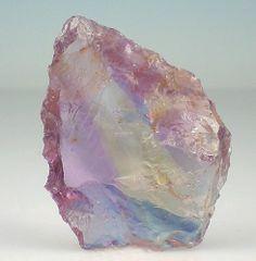 beautiful-minerals: gemmy ametrine shard
