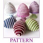 Crochet Easter Eggs and Cosy ALLELUJA - via @Craftsy