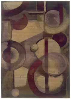 Sphinx G8013A Generations Purple Modern / Contemporary Rug --- 8x8 @ $600