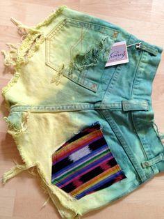 fun jean shorts.