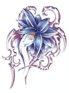 Lotus Flower Tattoo Designs | ... Tattoo Iris Flower Tattoo Designs The Best Flowers To Have As A Tattoo