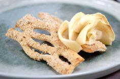 Tarte aux pommes des bois, façon écorce et champignon. La recette sur www.eatdesign.eu  #fooddesign #designculinaire #eatdesign
