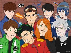 Classic Cartoon Characters, Favorite Cartoon Character, Character Art, Classic Cartoons, Generator Rex, Max Steel, Ben 10 Fanart, Kim Possible Funny, Dragon Occidental