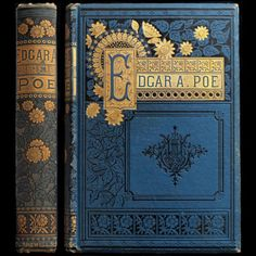 1885 EDGAR ALLAN POE POEMS ILLUSTRATED VICTORIAN FINE BINDING ENGRAVINGS RAVEN// i want this!