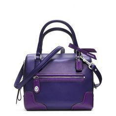 Coach Poppy Colorblock Leather Mini Satchel ($248)