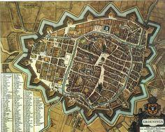 Blaeu Atlas: Groningen ca 1662, Netherlands.