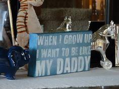 country Baby Boy Nursery Ideas | Baby Boy Room Decor - Canvas Sign