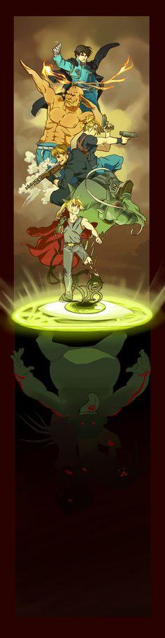 FullMetal Alchemist - My Brother I Was a Fool by ~Fawnish on deviantART