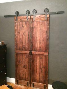 Pine Barn Door Like Closet Doors