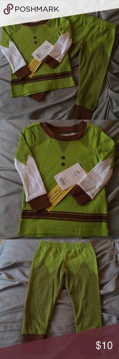 NWT Peter Pan PJ 12-18 mos Let your little one soar to Neverland with this Peter Pan PJ Set! Brand new with tags in size 12-18 months Disney Pajamas Pajama Sets