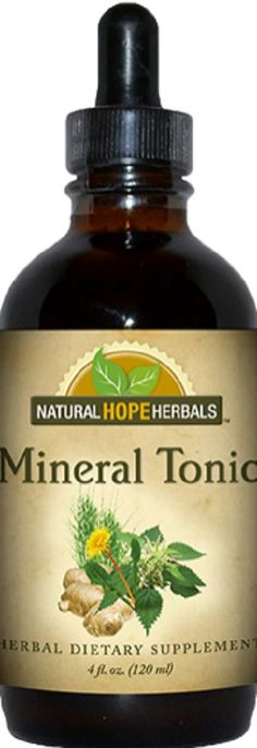 MINERAL TONIC Healthy Digestion & Bone Structure Taking Apple Cider Vinegar as a tonic? Add some nourishing herbs to it. Vinegar is great for extracting minerals such as calcium, magnesium, potassium,