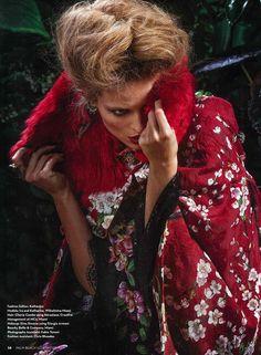 Dolce&Gabbana Spring Summer 2014, Palm Beach illustrated USA May 2014 -