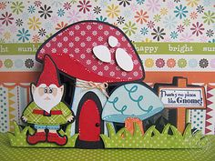 Scrappin Cookie: FCCB Spotlight Sunday - Scrappy Moms Stamps - No Place Like Gnome