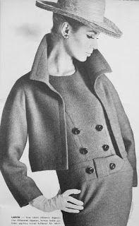 OĞUZ TOPOĞLU : jeanne lanvin 1964 takım elbise modelleri 2