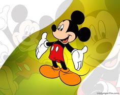 Cartoon Mickey Mouse Wallpaper Picture