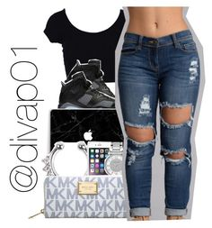 """""""Please go follow @divap01"""" by uniquee-beauty ❤ liked on Polyvore featuring Michael Kors"""