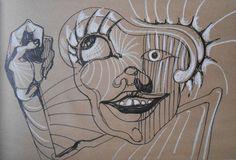"Saatchi Art Artist Misha Dontsov; Drawing, ""Eye Candy"" #art"