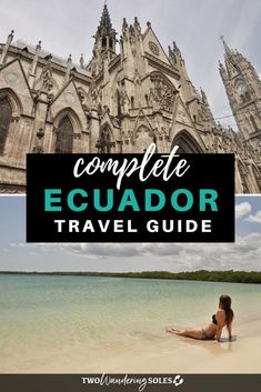 Going to Ecuador soon? Here's the ultimate travel guide to Ecuador. Galapagos Islands Ecuador, Quito Ecuador, Backpacking South America, South America Travel, Travel Route, Travel Usa, Amazing Destinations, Travel Destinations, Travel Guides