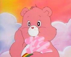 Cartoon, pink, and care bears image Aesthetic Images, Aesthetic Collage, Pink Aesthetic, Aesthetic Anime, Aesthetic Wallpapers, Retro Cartoons, Cartoon Icons, Vintage Cartoon, Cartoon Characters 90s