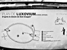 Luxeuil-les-Bains: mappa città antica ( © Jean Espirat ) - France-Voyage.com