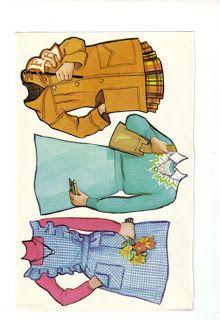 Paper Dolls: Two Girlfriends Super Seventies
