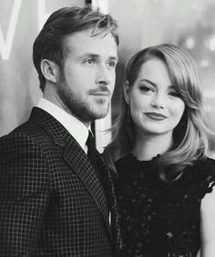 Ryan Gosling and Emma Stone- two of my favorite people