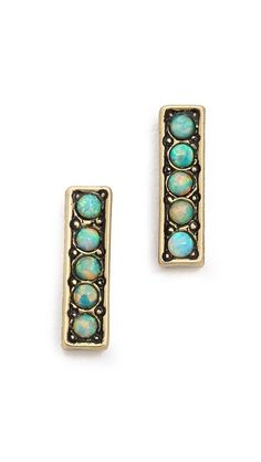 vanessa mooney femme fatale opal earrings / shopbop.com