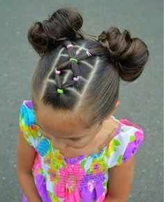 girl girl hairstyles Peinados fciles y bonitos par Lil Girl Hairstyles, Braided Hairstyles, Hairdos, Teenage Hairstyles, Simple Girls Hairstyles, Toddler Girls Hairstyles, Children Hairstyles, Pretty Hairstyles, Mixed Baby Hairstyles