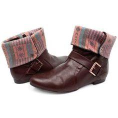 Bota Ramarim Dobra Tecido R$179.90 (em até 10x) - Compre aqui http://www.footcompany.com.br/Bota-Ramarim-Dobra-Tecido-13-49102MARROM/p