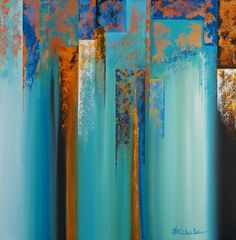 Dissolve 4 by Nancy Eckels - abstract, contemporary, modern art, painting, painting by artist Nancy Eckels
