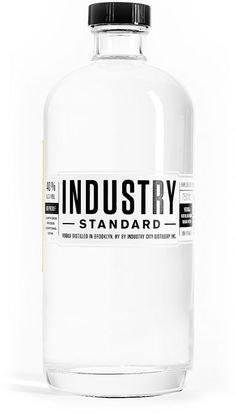 Industry Standard Vodka by Industry City Distillery. | Click image Tobit online