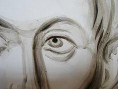 Frescele lui Alexandru Soldatov (Partea a Eye Art, Profile Picture, Painting Process, Drawings, Art, My Arts, Byzantine Icons, Human Face, Byzantine