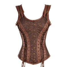 Argh, this isn't available in my size.  It's probably the coolest lookin' corset I've seen in a long time and it's not im my freakin' size.  *swears*