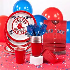 MLB®+Boston+Red+Sox™+Party+Supplies+-+OrientalTrading.com