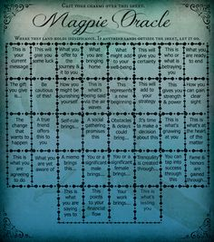 Magick Lenormand Oracle Spread | Card Layout | Divination | Tarot | Psychic | Reading Cards