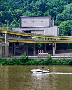 Fort Pitt Tunnel... You have 300 ft to make up ur mind which lane you need to be in and watch the other guys at the same time !!!