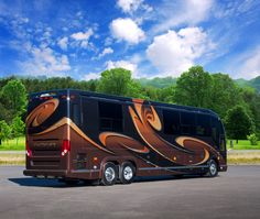 Here's one of our latest creations, Marathon Coach #1221. A handcrafted work of art, this motorcoach is brimming with everything you need, plus some surprising innovations.