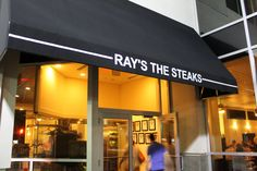 Ray's the Steaks in Arlington, VA. I love this place. Anytime I have friends or family come into town, I make sure to take them there. Oh and the pinot noir selection is to die for!