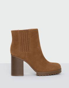 Bottine à talon élastique - Tout afficher - Chaussures - Femme - PULL&BEAR Tunisie
