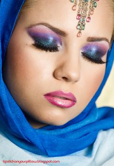 Arabic Makeup http://www.makeupbee.com/look_Arabic-Makeup_5731