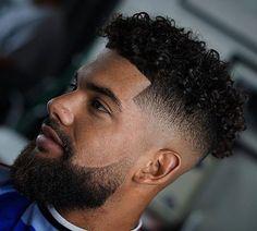Black Man Haircut Fade, Short Fade Haircut, Black Hair Cuts, Taper Fade Haircut, Tapered Haircut, Curly Hair Cuts, Curly Hair Styles, Haircut Men, Black Men Hairstyles