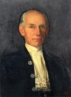 fortescue-brickdale, eleanor - Portrait of Charles Fortescue Brickdale, Eleanor's Elder Brother | Eleanor Fortescue-Brickdale