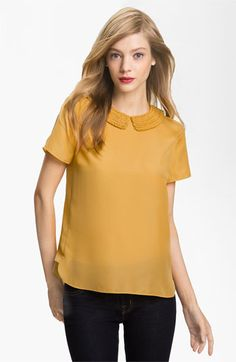 Ted Baker London Peter Pan Collar Top