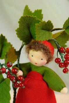 ACHTUNG!! LIEFERZEIT CA.5-6 WOCHEN!! Katjas-Puppenstuebchen.de Handgefertigte Blumenkinder und Jahreszeitenfiguren für den Jahreszeitentisch.