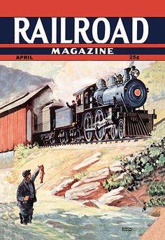 Railroad Magazine: Fisherman and Engineers, 1943